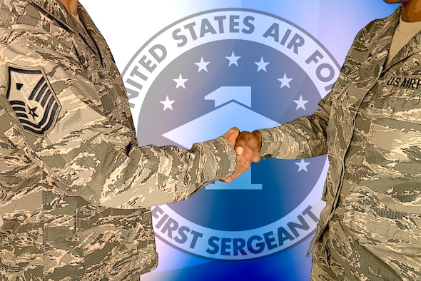 The First Sergeant Council consists of all first sergeants, their additional duty first sergeants and assistants on an Air Force installation. The council assists commanders in the morale and welfare of Airmen and their families. (U.S. Air Force graphic by Heide Couch)