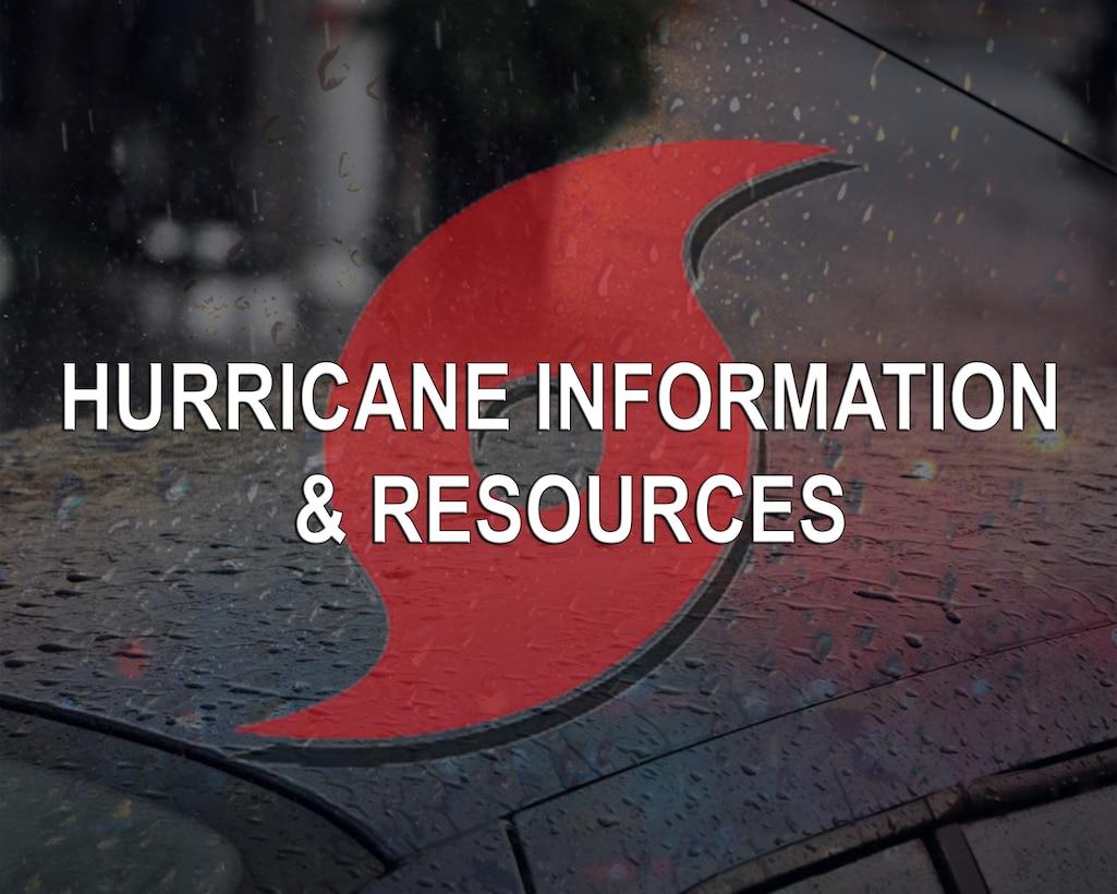 Hurricane information graphic