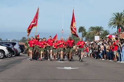 #USMC #wemakemarines #SemperFidelis #MCRDSD #MarineRecruit  Photos by: Cpl. Brooke C. Woods