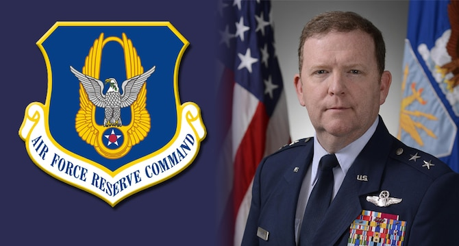 New Air Force Resereve Commander