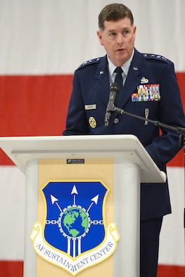 Lt. Gen. Gene Kirkland, Air Force Sustainment Center commander