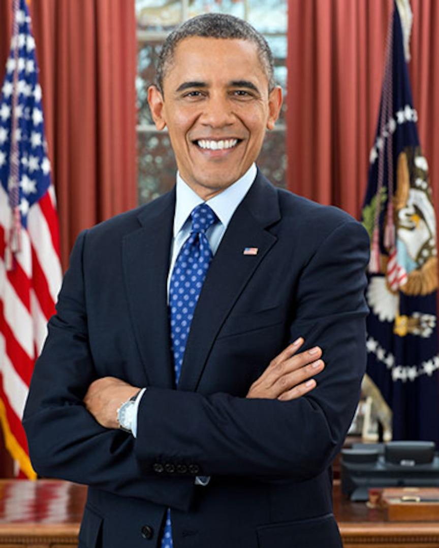 Official Portrait of President Barack Obama