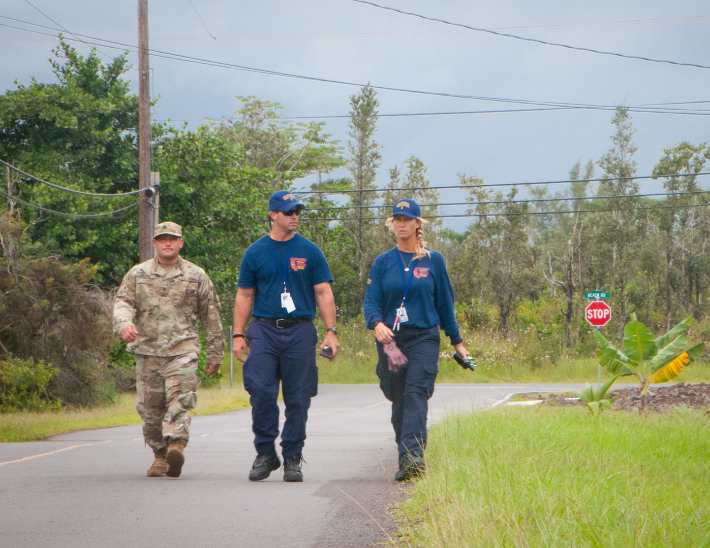 Hawaii Guard members persevere against two natural disasters