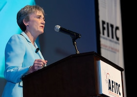 Secretary of the Air Force urges innovation in software acquisition model