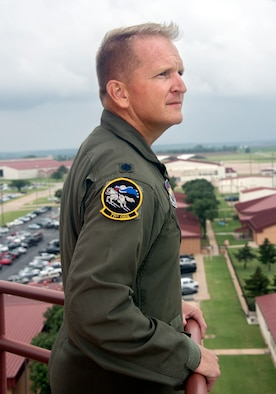 Lt. Col. Nathan Perry, 71st Operations Support Squadron director of operations (U.S Air Force photo/ Mr. Terry Wasson)