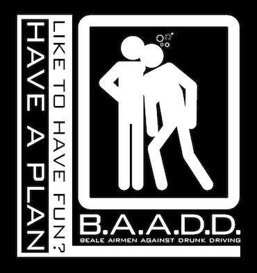 Beale Airmen Against Drunk Driving (BAADD) is a completely anonymous program, ran by volunteers, designed to prevent base personnel from driving under the influence.