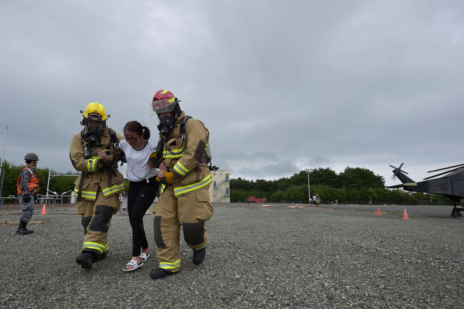 U.S., Japanese emergency responders train to perfect safety, security for air show