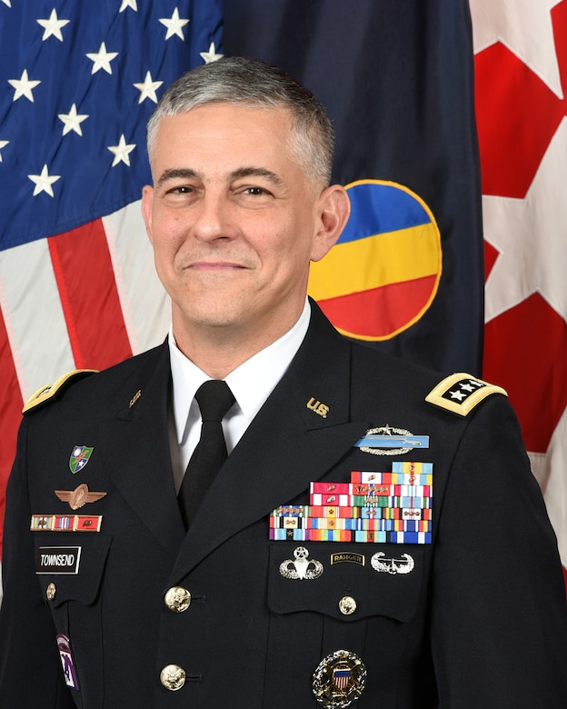 Official Photo of Gen. Stephen J. Townsend, commanding general, U.S. Army Training and Doctrine Command.