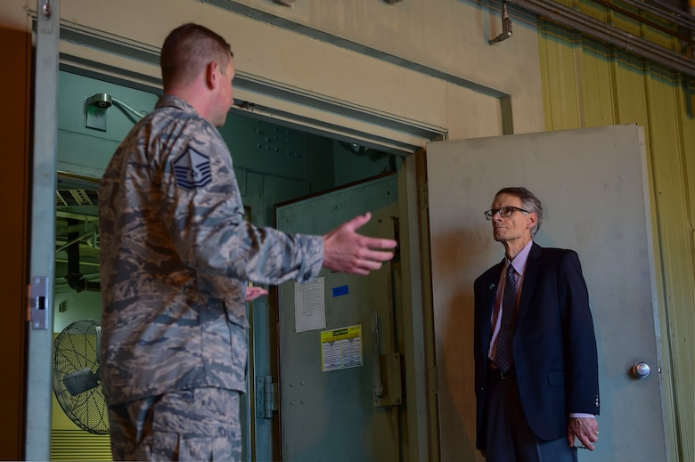 Buckley AFB hosted Aurora city officials to showcase the importance of the base's mission and maintain a strong relationship.