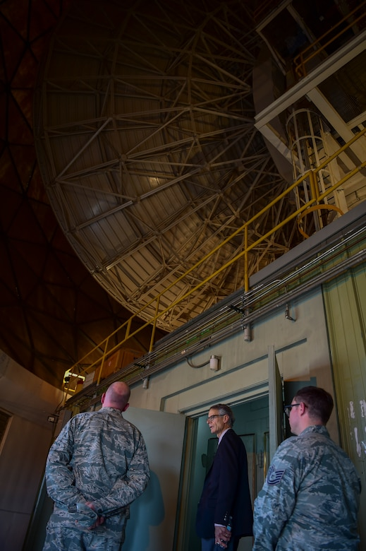 Buckley AFB hosted Aurora city officials to showcase the importance of the base's mission and maintain a strong relationship