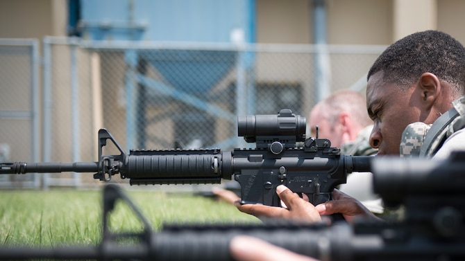 374th SFS hosts Weapons Handling Skills and Tactics Course