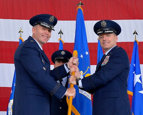 Maj. Gen. John Wood assumes command of 3rd Air Force