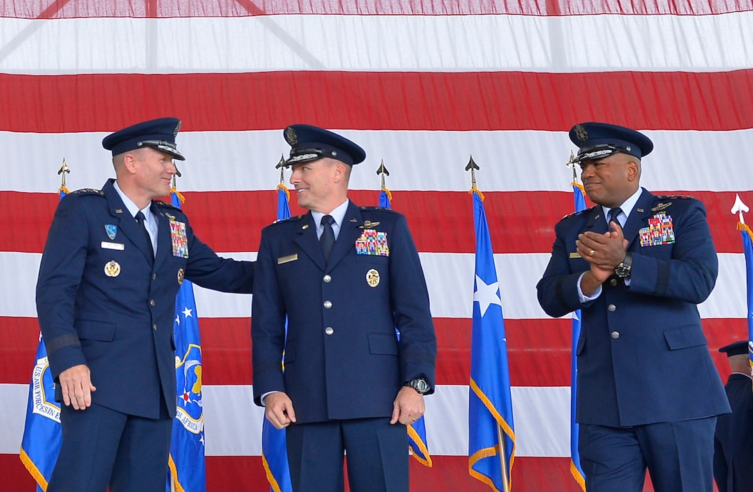 Maj. Gen. John Wood assumes command of the 3rd Air Force