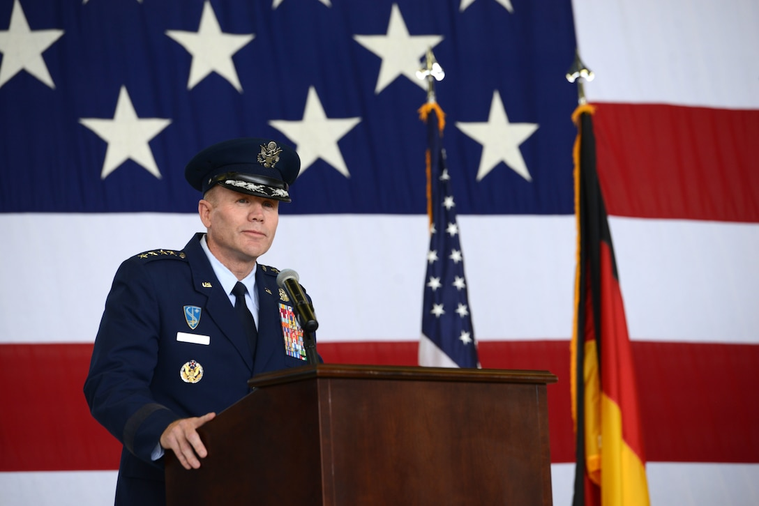 Maj. John Wood assumes command of 3rd Air Force