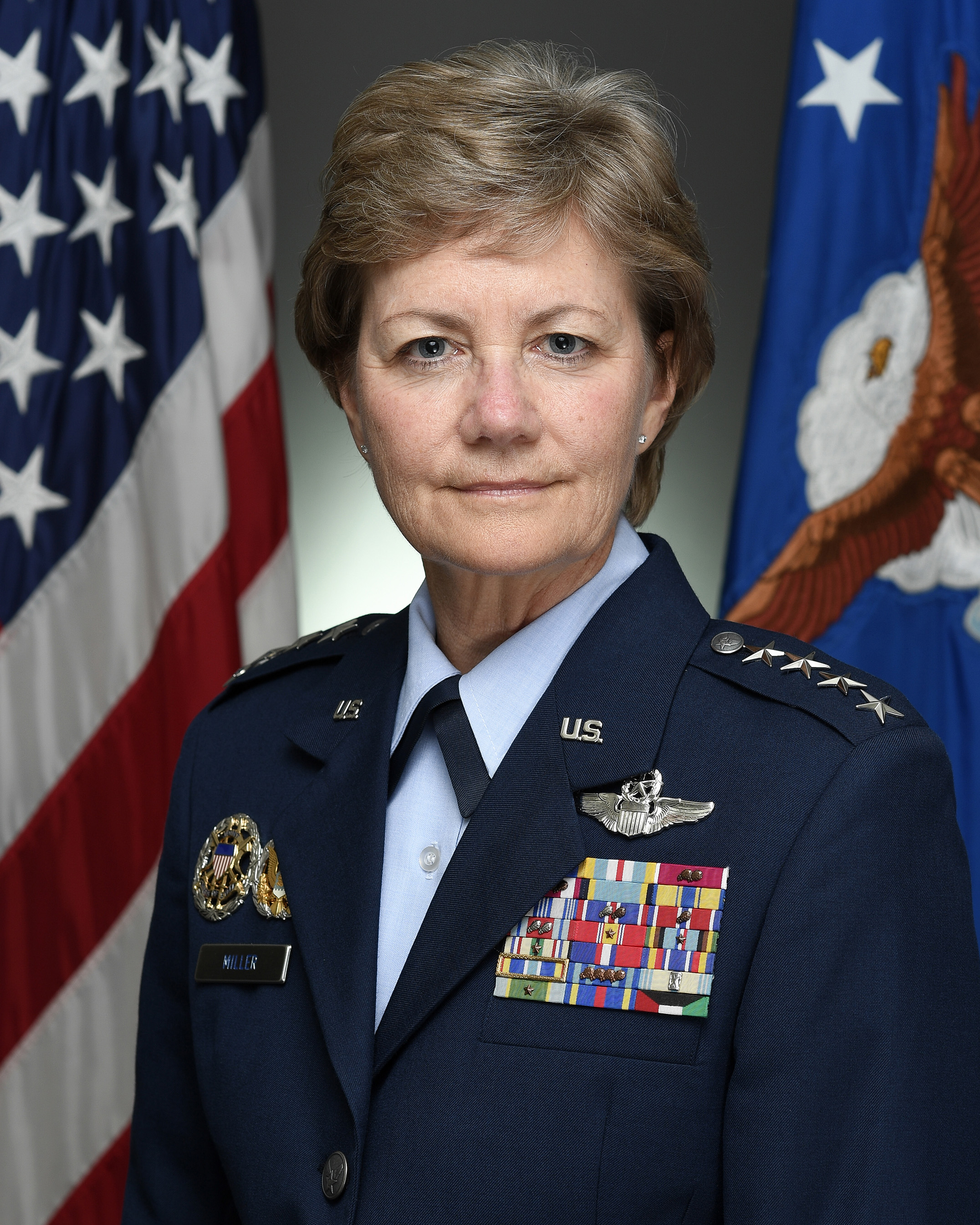 general maryanne miller u s air force biography display