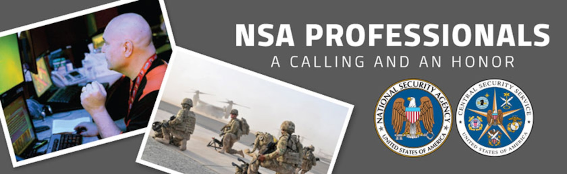 NSA Professionals : A Calling and An Honor