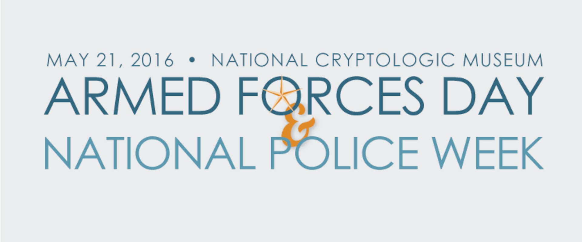 Armed Forces Day & National Police week