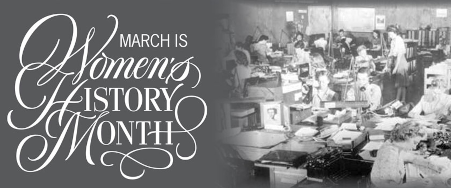 March is Womens History Month