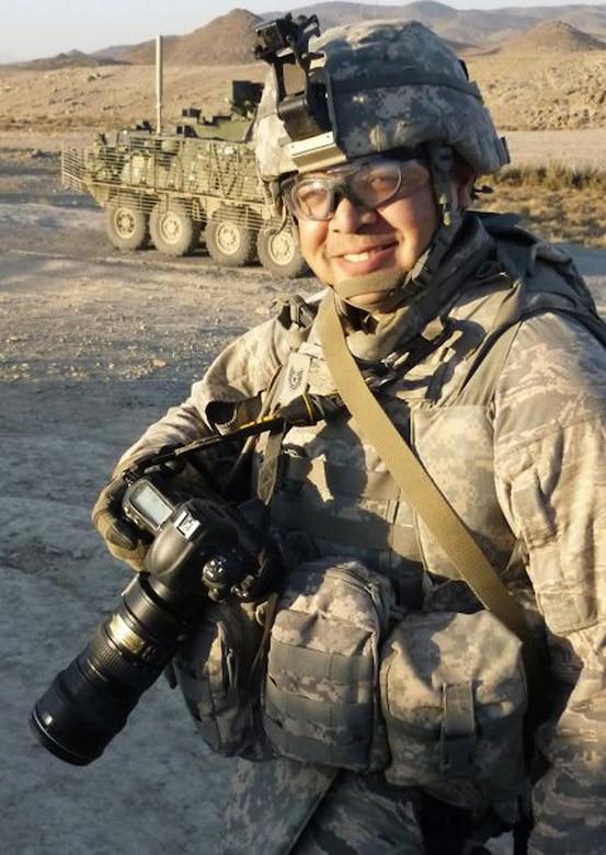 combat camera in Afghanistan