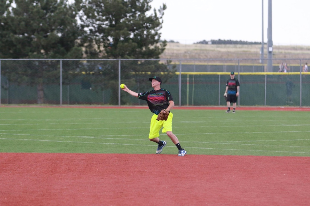 Malmstrom Air Force Base's men's softball team claimed the Class C state championship with a 20-12 win over a team from Butte, Mont.