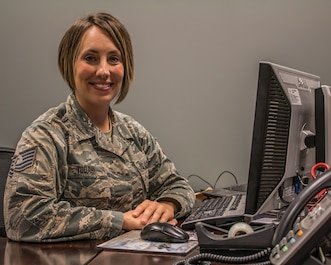 Tech. Sgt. Traci Todahl, 445th Aeromedical Staging Squadron NCO in charge, deployments, is the 445th Airlift Wing September 2018 Spotlight Performer.