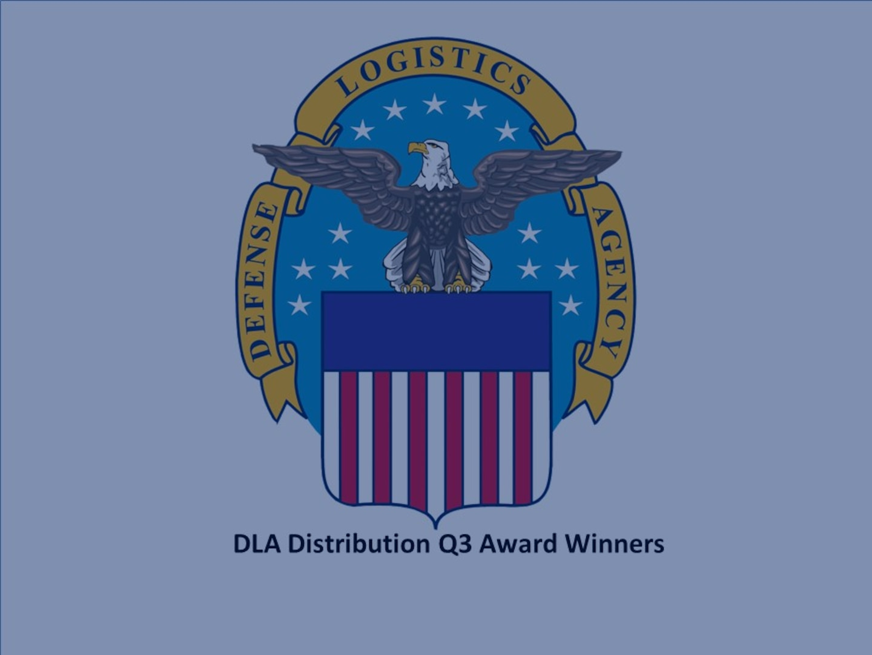 DLA Distribution announces quarterly award winners
