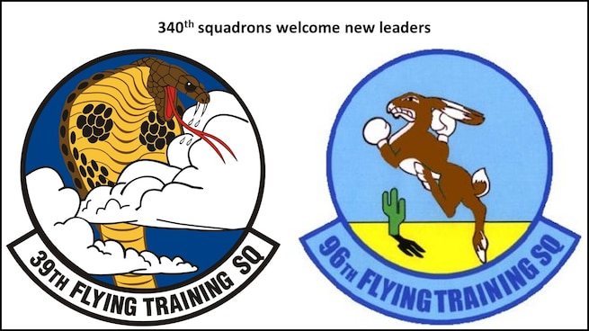 New squadron leaders named