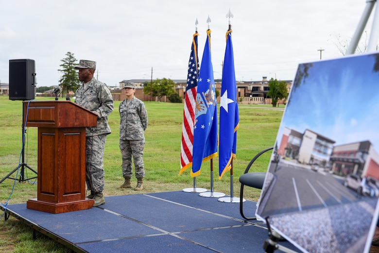 82nd Medical Group groundbreaking ceremony