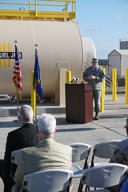 New Global Hawk fuel storage tank