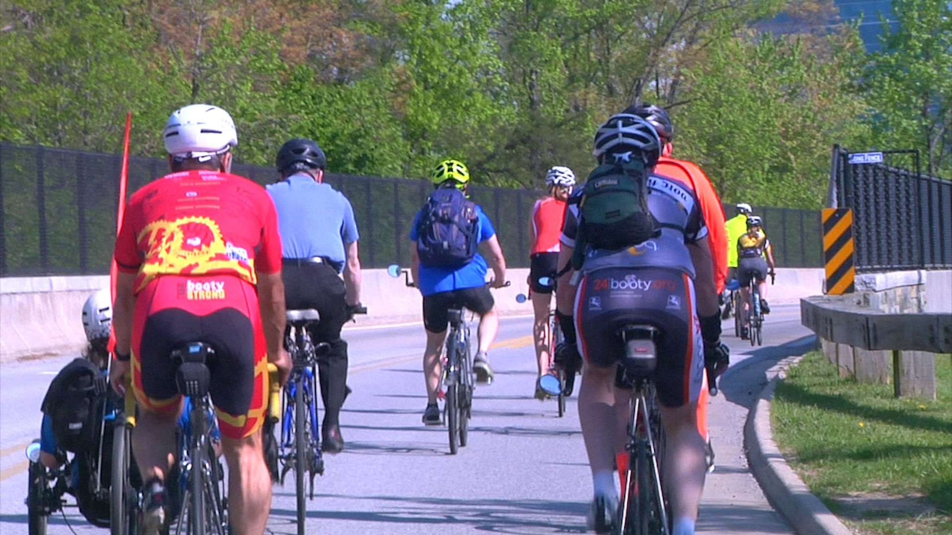 The bike-friendly changes on NSA's campus cycled in.