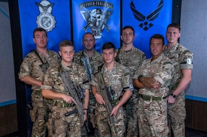 Royal Air Force (RAF) Regiment Defender Challenge Team