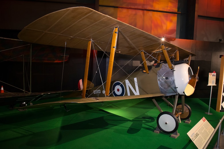 DAYTON, Ohio -- Sopwith Camel F.1 in the Early Years Gallery at the National Museum of the United States Air Force. (U.S. Air Force photo by Ken LaRock)