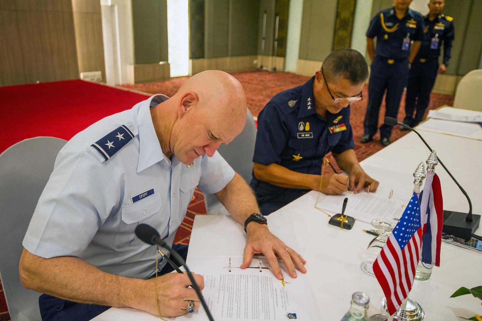 RTAF hosts 5th Airman-to-Airman Talks with U.S.