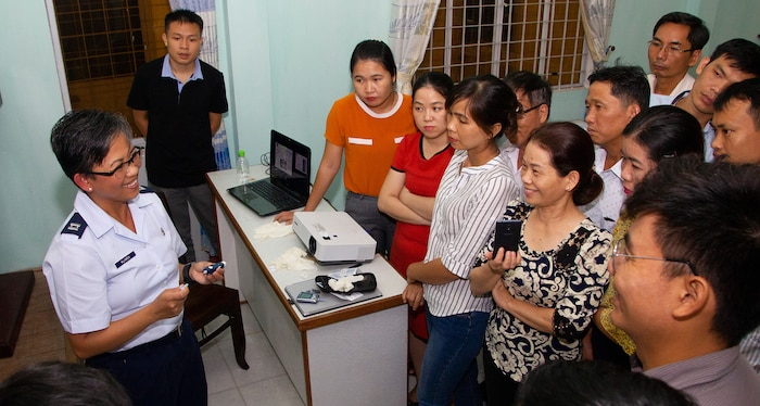 US, Vietnam conducted medical info sharing during PAC ANGEL 18-2