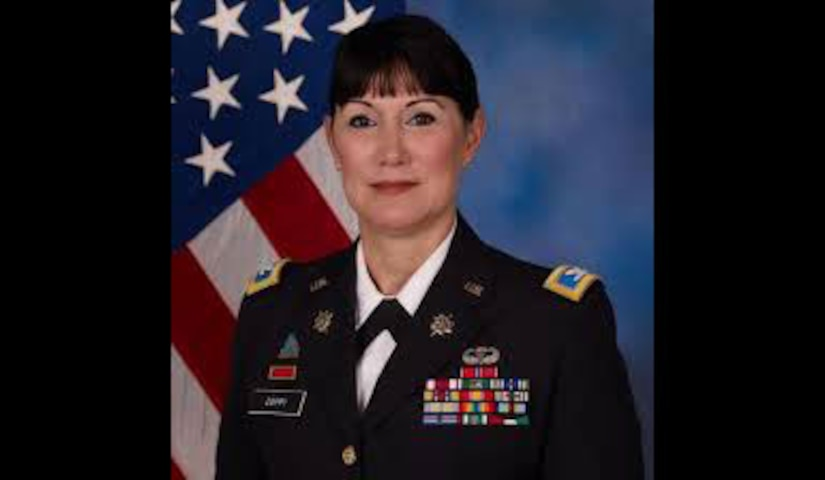 Dr. Irene Zoppi Rodriguez, a New Employee Orientation instructor at NSA, is also a Colonel in the U.S. Army Reserve