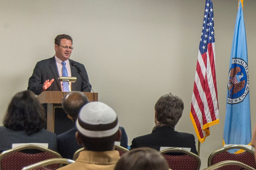 Chad Jones was keynote speaker for this year's annual Pre-Ramadan Luncheon.
