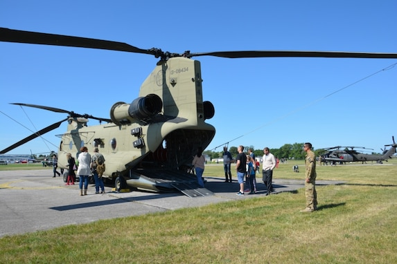 12th CAB in Poland for 56th Airbase Anniversary