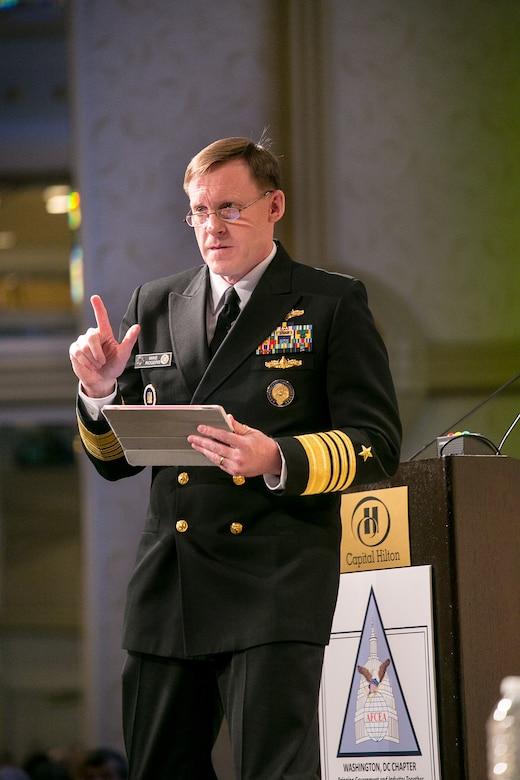 ADM Rogers Talks Teamwork at Cybersecurity Technology Summit in Washington