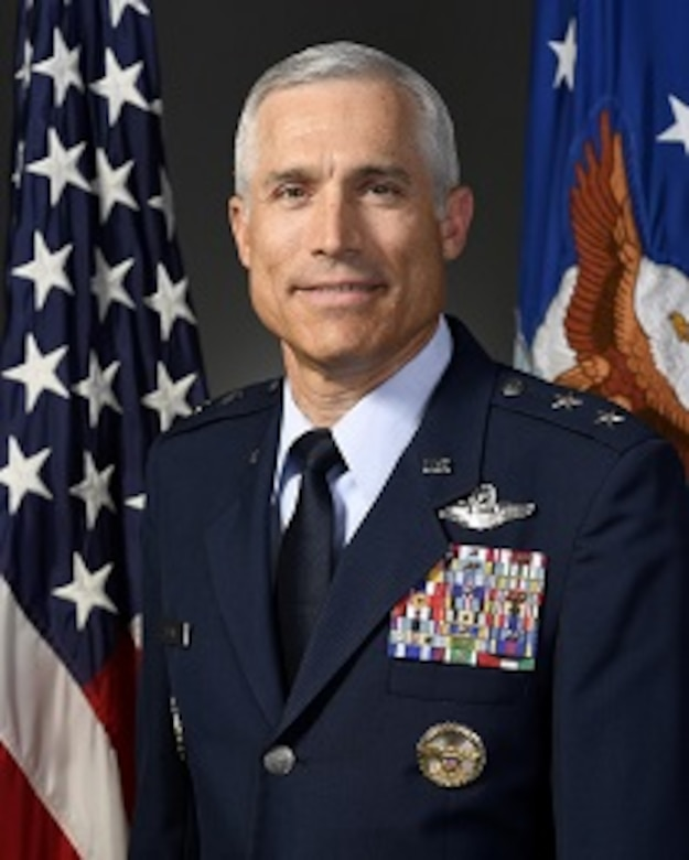 The official photo of Maj. Gen. Craig La Fave, 22nd Air Force commander.