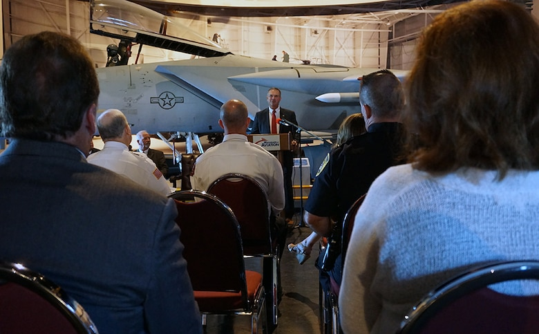 9/11 Patriot Day ceremony at the Museum of Aviation