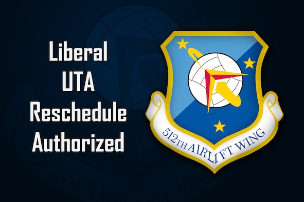 Liberal UTA Reschedule Authorized