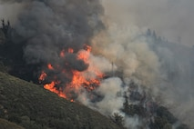 CPDF supports partnered agencies in fighting historical fire