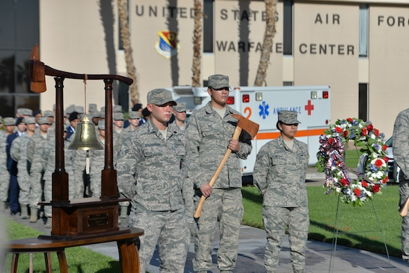 9/11 remembrance ceremony held at Nellis