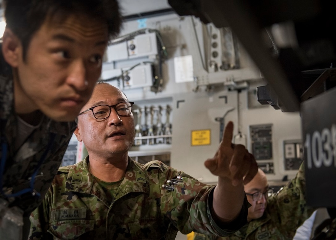 C-17 bilateral loading event