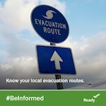"The National Weather Service is forecasting that Hurricane Florence will bring a life-threatening storm surge and rainfall to portions of the Carolinas and mid-Atlantic states, and the Federal Emergency Management Agency has declared Wednesday, September 12 as the last ""good"" evacuation day prior to the storm's landfall.  (Photo courtesy of Ready.gov)"