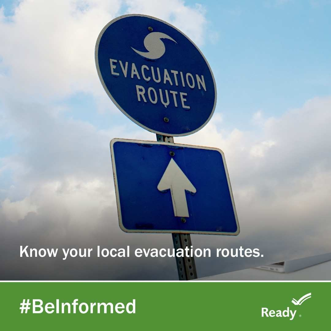 """The National Weather Service is forecasting that Hurricane Florence will bring a life-threatening storm surge and rainfall to portions of the Carolinas and mid-Atlantic states, and the Federal Emergency Management Agency has declared Wednesday, September 12 as the last """"good"""" evacuation day prior to the storm's landfall.  (Photo courtesy of Ready.gov)"""