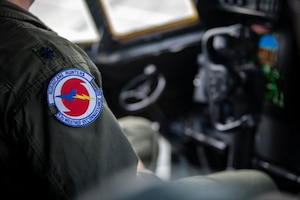 The Air Force Reserve's 53rd Weather Reconnaissance Squadron departed Keesler Air Force Base, Mississippi, Sept. 9, 2018, to operate out of Savannah/Hilton Head International Airport, Savannah, Georgia. The Reserve Citizen Airmen will start flying reconnaissance missions into Hurricane Florence Sept. 10, 2018. The Hurricane Hunters also started flying missions into Hurricane Olivia out of the Kalaeloa Airport, Hawaii, Sept. 8, 2018. (U.S. Air Force photo/Lt. Col. Marnee A.C. Losurdo)