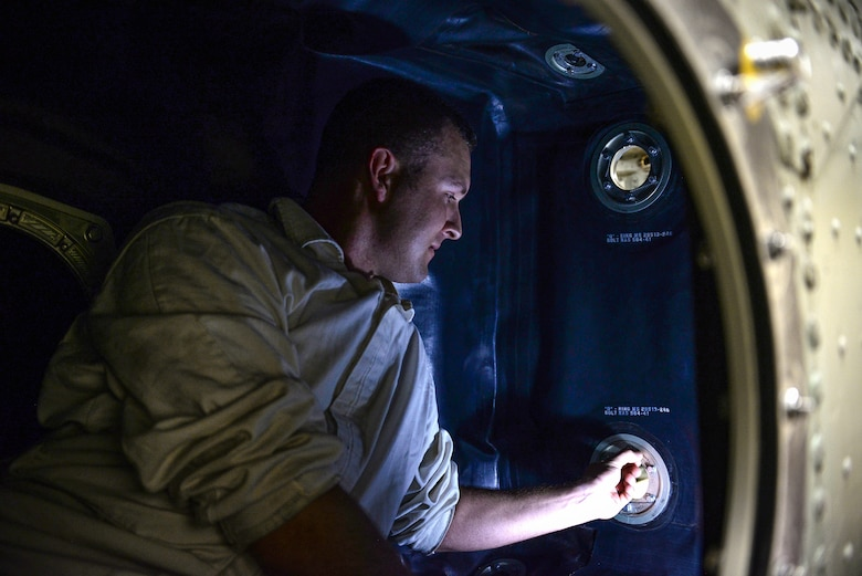 SSgt Caleb Farmer aces aircraft fuel systems course