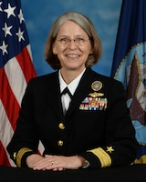 Rear Admiral Linnea Sommer-Weddington official bio photo