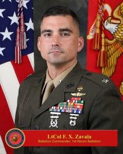 LtCol Francisco X. Zavala